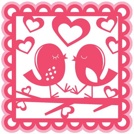 Love Birds Overlay Svg Scrapbook Cut File Cute Clipart Files For Silhouette Cricut Pazzles Free Svgs Free Svg Cuts Cute Cut Files