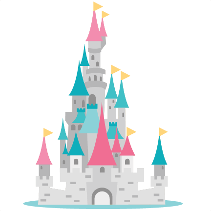 Princess Castle SVG scrapbook cut file cute clipart files ...