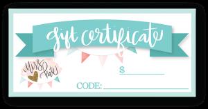 Gift Certificate - giftcertificate - Gift Certificates