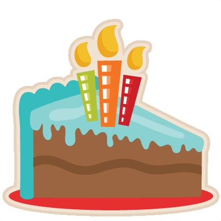 Piece Of Birthday Cake Clipart