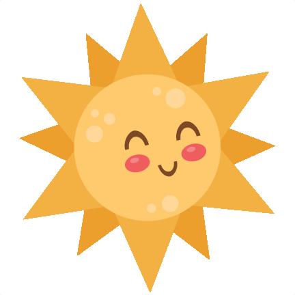 Sun SVG scrapbook cut file cute clipart files for silhouette