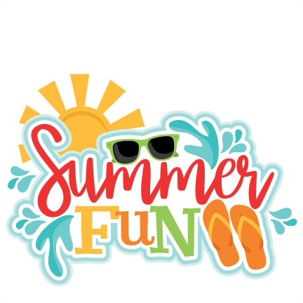 Summer Fun Title SVG scrapbook cut file cute clipart files ...