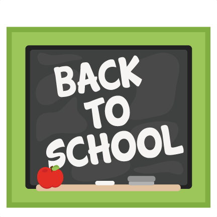 Back to school chalkboard. Svg cuts scrapbook cut