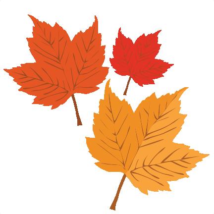 autumn leaves svg scrapbook cut file cute clipart files for