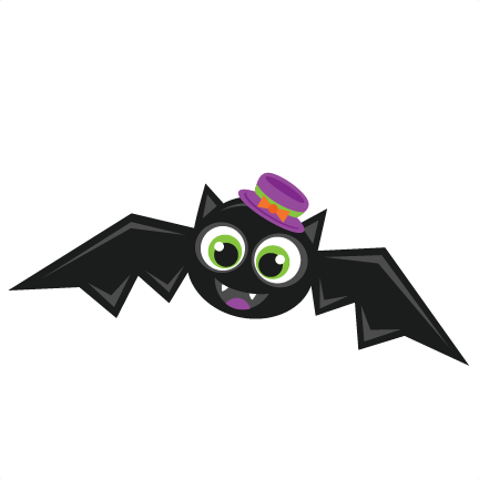 Halloween Bat scrapbook cut file cute clipart files for ...