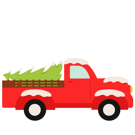 Christmas Truck Svg.Christmas Truck Svg Scrapbook Cut File Cute Clipart Files