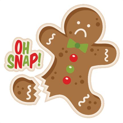 Oh Snap Gingerbread Man Cookie Svg Scrapbook Cut File Cute Clipart Files For Silhouette Cricut Pazzles Free Svgs Free Svg Cuts Cute Cut Files
