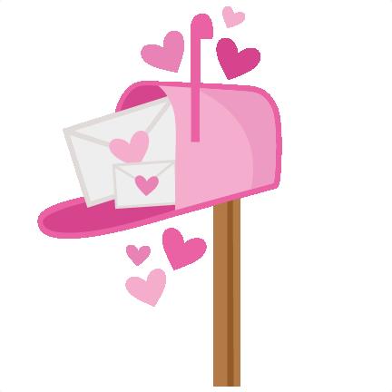 valentine mailbox svg scrapbook cut file cute clipart files for rh misskatecuttables com Full Mailbox Clip Art Post Office Mailbox Clip Art