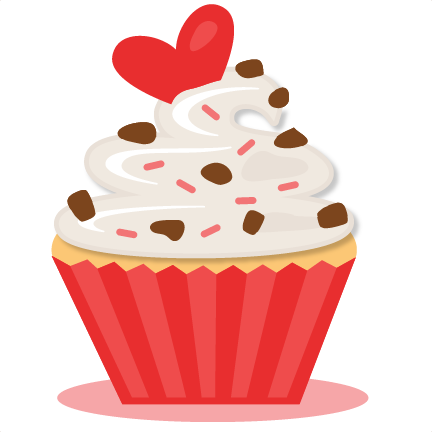 valentine cupcake clipart image collections   wallpaper