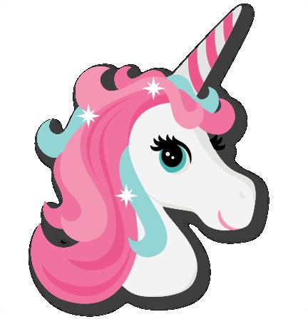 Unicorn Head Cute unicorn svg cut file scrapbook cut file ...