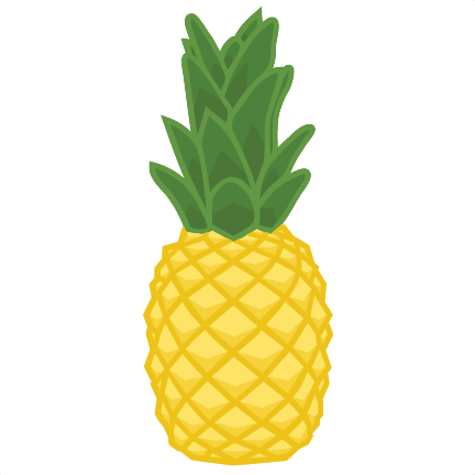 Pineapple Clipart SVG scrapbook cut file cute clipart ...