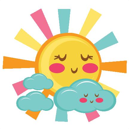 Cute Sun SVG scrapbook cut file cute clipart files for ...