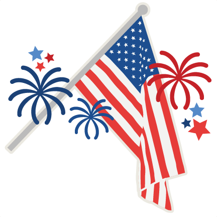 American flag cute. July th svg scrapbook
