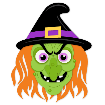 Wicked Witch SVG scrapbook cut file cute clipart files for ...