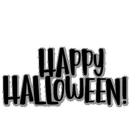 Happy Halloween Title Scrapbook Title Svg Cuts Scrapbook Cut File Cute Clipart Files For Silhouette Cricut Pazzles Free Svgs Free Svg Cuts Cute Cut Files