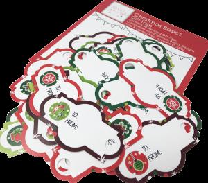 Christmas Basics - 46 Gift Tags - GTchristmasbasics - Christmas