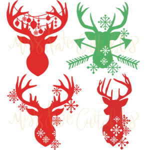 DOTD 12/10/2018 Reindeer Silhouettes