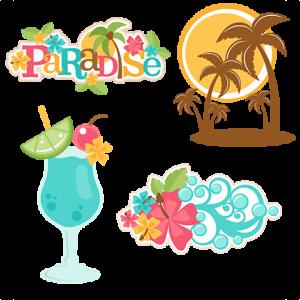 DOTD Paradise Title Set 02/20/2019 - DOTD190220ParadiseTitleSet - Beach/Ocean