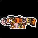October 31st SVG Scrapbook Title