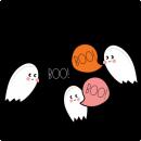 Halloween Ghosts SVG