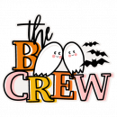 The Boo Crew SVG Scrapbook Title