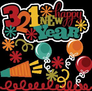 321 Happy New Years SVG