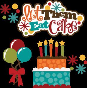Let Them Eat Cake SVG
