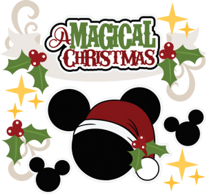 A Magical Christmas SVG