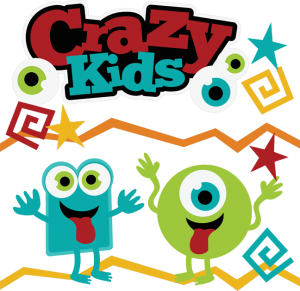 Crazy Kids SVG