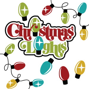 Christmas Lights SVG