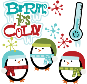Brrrr, It's Cold SVG