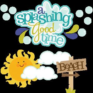 A Splashing Good Time SVG