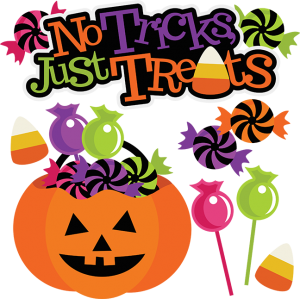 No Tricks, Just Treats SVG