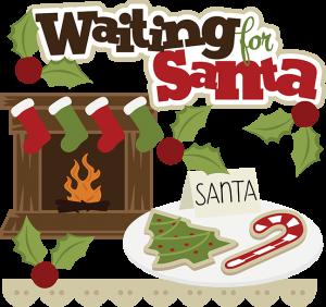 Waiting For Santa SVG