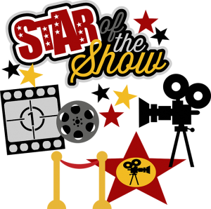 Star Of The Show SVG