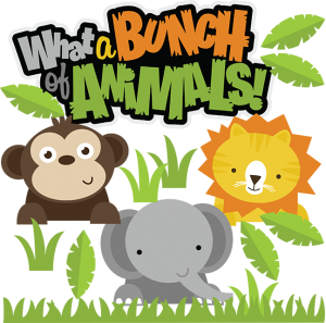 What A Bunch Of Animals SVG
