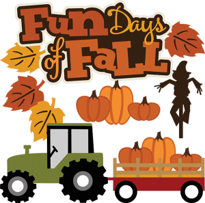 Fun Days Of Fall SVG