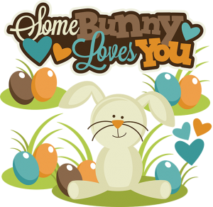 Some Bunny Loves You SVG