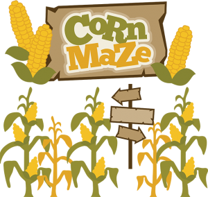 Corn Maze SVG