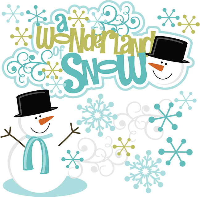 A Wonderland Of Snow SVG snow clipart - 232.3KB