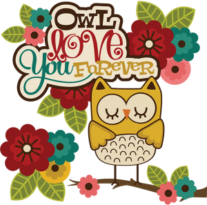 Owl Love You Forever SVG owl clip art cute owl clipart cute owl clip art owl scrapbook svg