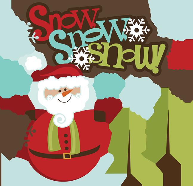 snow svg santa snowman svg santa snowman scrapbook svg santa snowman clipart - Santa Snowman 2
