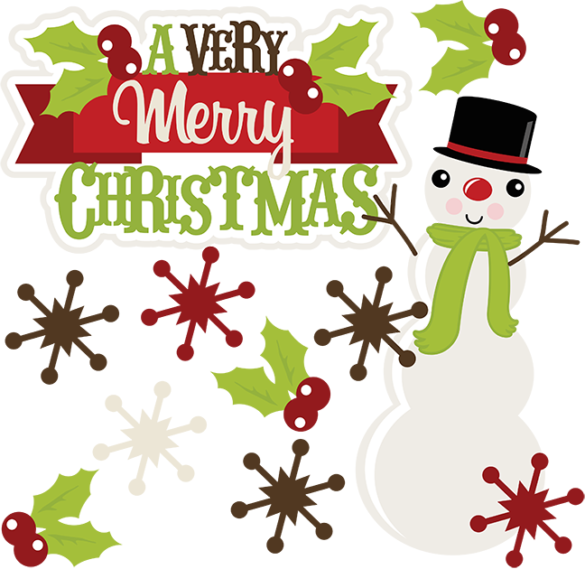 a very merry christmas svg christmas clipart cute clipart cute christmas clipart scrapbook svg