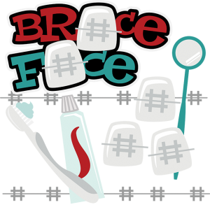 Brace Face SVG braces svg braces clipart cute clipart svg file