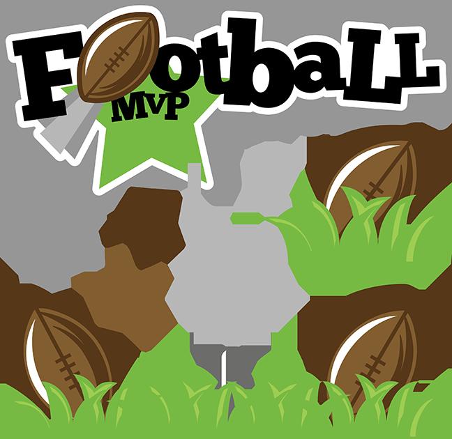 Football MVP SVG football svg file sports clipart cute ...