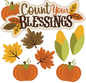 Count Your Blessings SVG thanksgiving svg file thanksgiving clipart cute clipart autumn clipart
