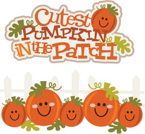 Cutest Pumpkin In The Patch SVG pumpkin clipart cute pumpkin clipart cute clip art