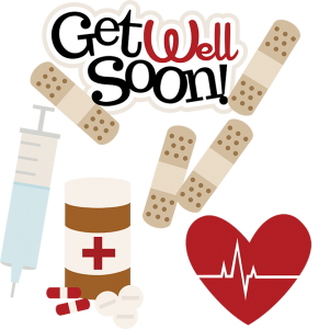 Get Well Soon SVG doctor svg files nurse svg files sick day svg cute clip art free svgs