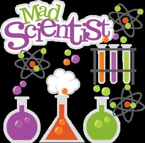 Mad Scientist SVG science svg beaker svg test tubes svg file atom svg file cute clipart science project scrapbooking