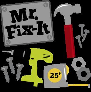 Mr. Fix-It SVG hammer svg drill svg measuring tape svg svg files for scrapbooking